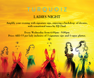 Ladies night at Turquoiz
