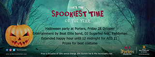 Porters Halloween Party