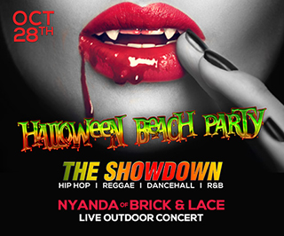Halloween Beach Party at Sheraton
