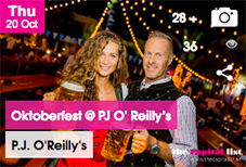 Oktoberfest at PJ O' Reilly's