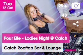 Pour Elle - Ladies Night at Catch