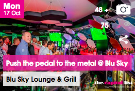Push the pedal to the metal at Blu Sky