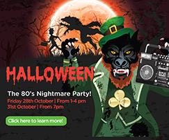 Halloween 80's Nightmare party
